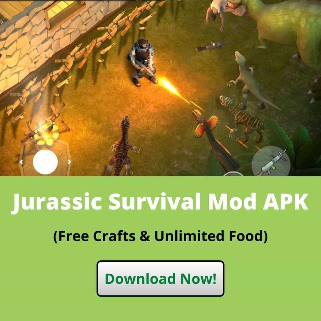 Download Jurassic Survival Mod APK