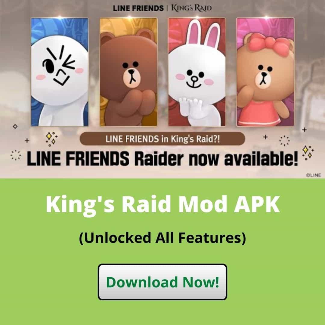 Download King's Raid Mod APK