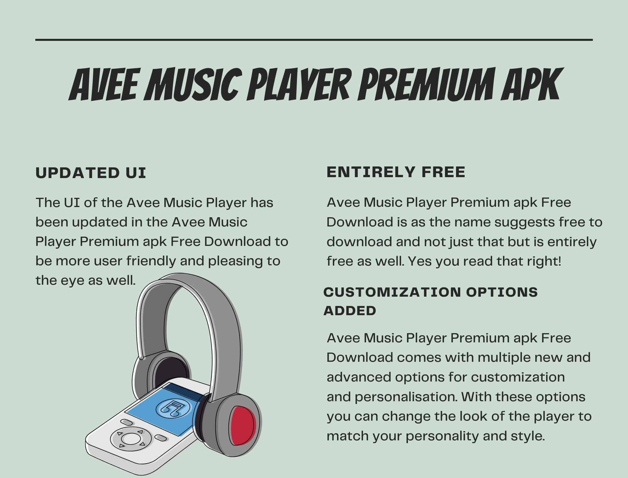 Avee Music Player Premium apk