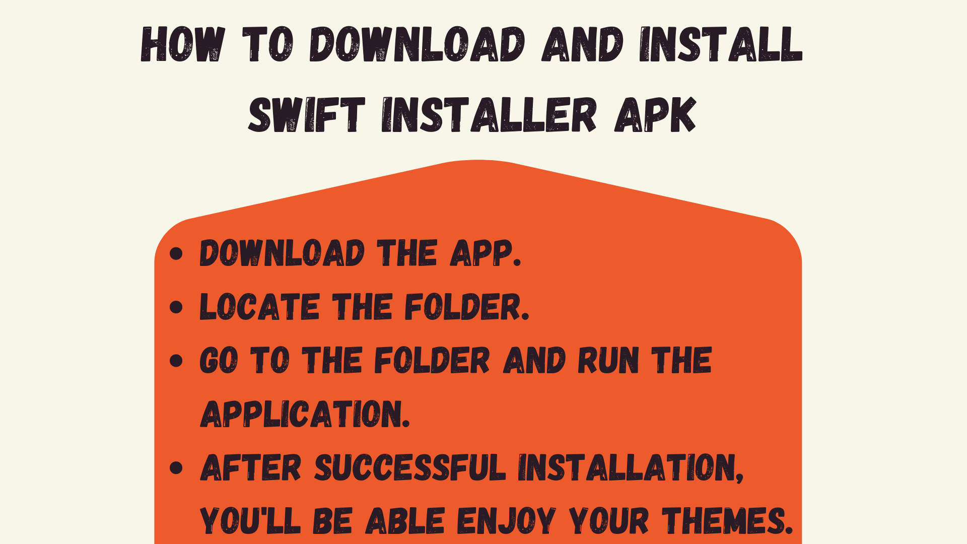 How to Download And Install Swift Installer apk