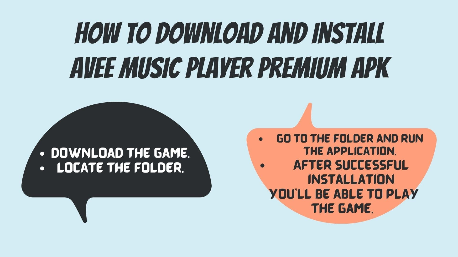 How to Download And install Avee Music Player Premium apk